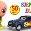 Surprise Eggs Racing Car Toys For Kids Grey Cartoon Car